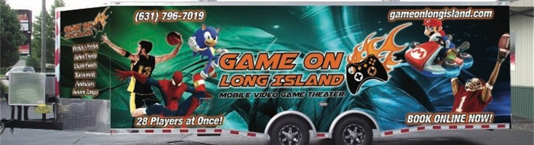 Long Island's Ultimate Video Game Party on Wheels...