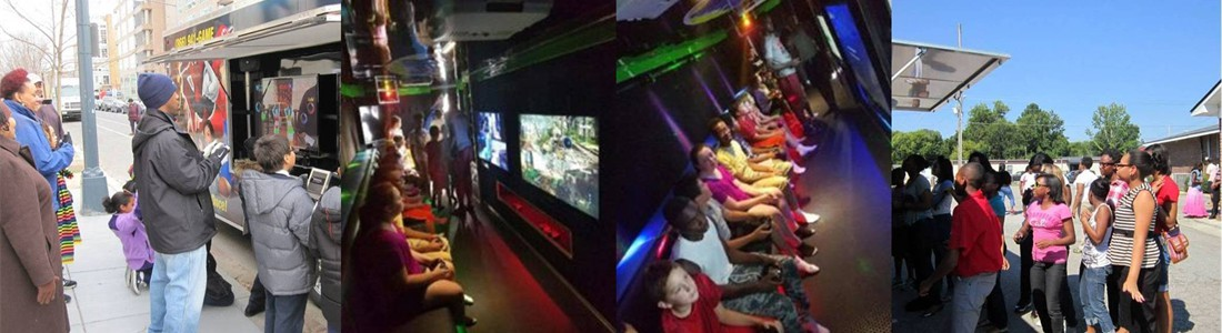 Indoor and Outdoor Gaming Stations...